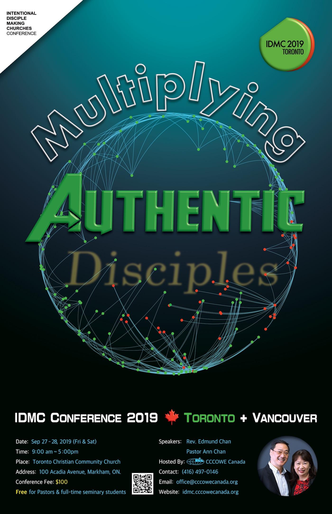 2019 IDMC Conference – CCCOWE Canada